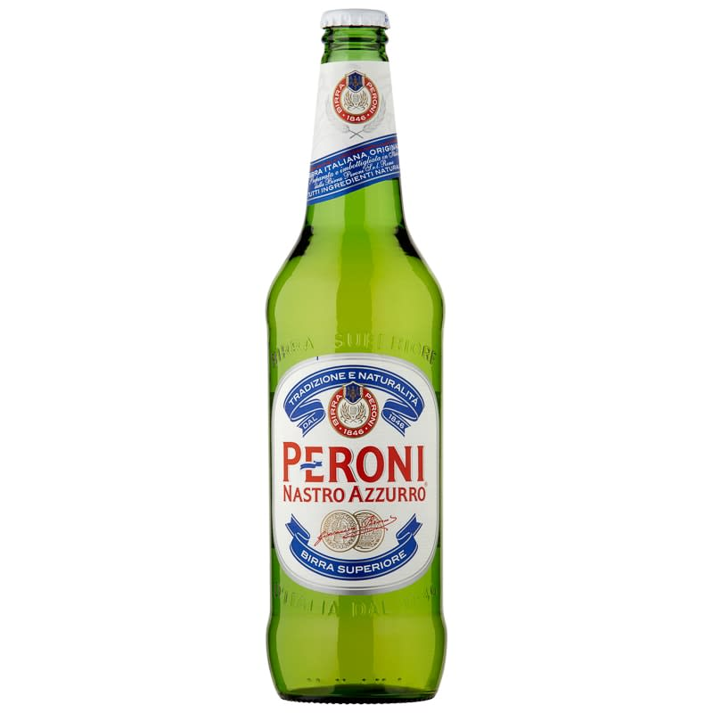 Peroni Nastro Azzuro 620ml Alcohol Beer Amp Lager B Amp M