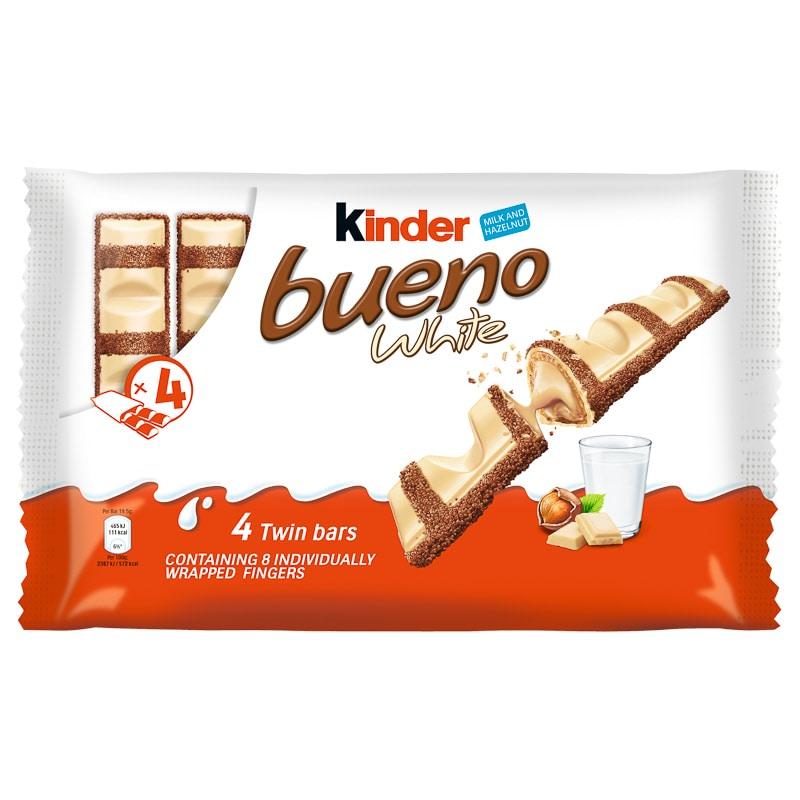 Kinder Bueno White 4pk Chocolate Bars B Amp M