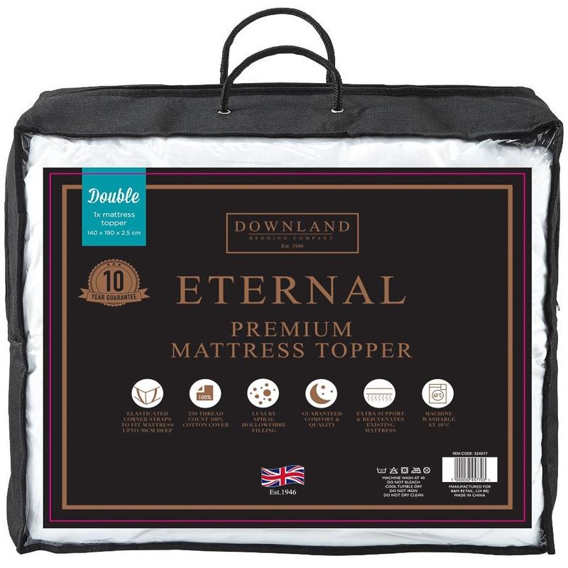 Eternal Premium Forever Full Mattress Topper Double