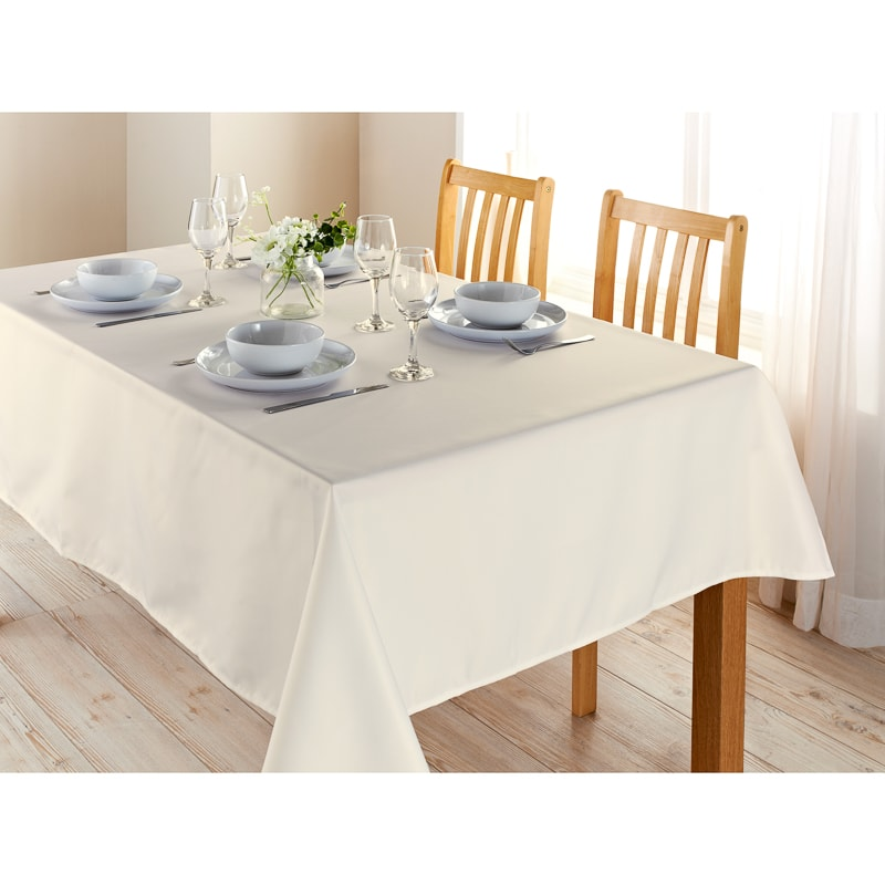 Essentials Tablecloth 132 x 230cm - Beige