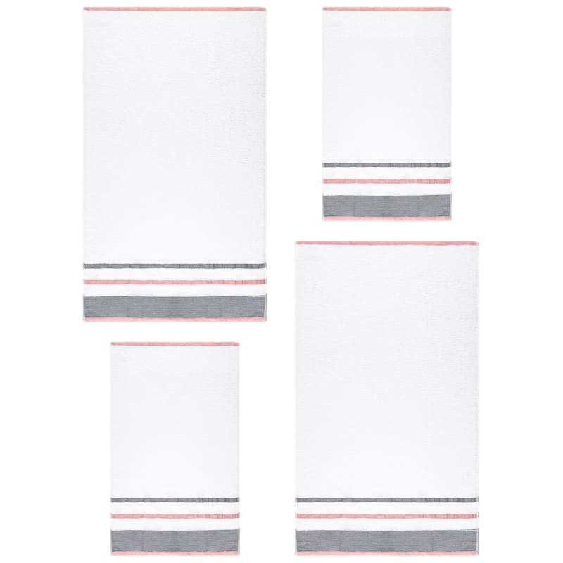Serenity Towel Bale 4pc - Blush