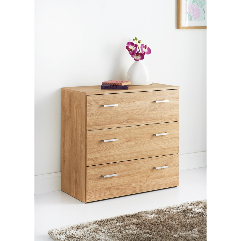 Hansberg 3 drawer chest bedroom furniture b m for M s bedroom furniture uk