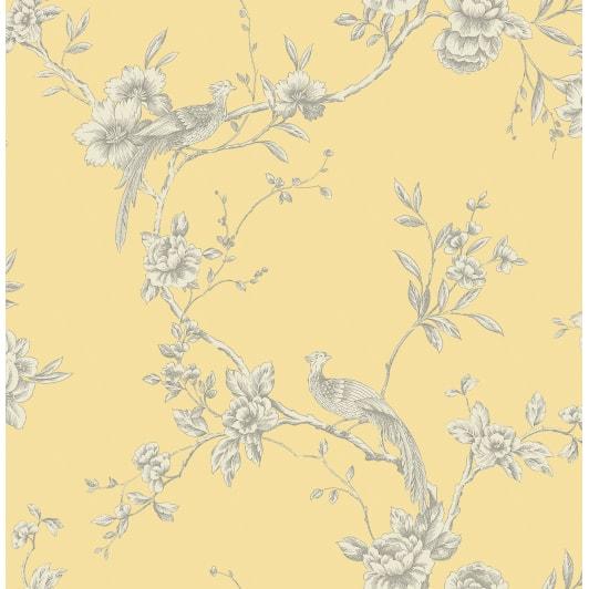Arthouse Chinoise Wallpaper Yellow Decorating B Amp M