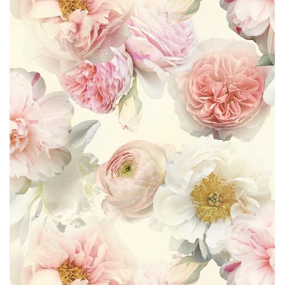 Arthouse Diamond Bloom Floral Wallpaper - Blush | Decorating