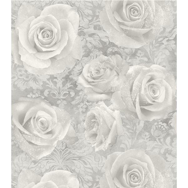 Floral Silk Silver Mist Wallpaper Walls Pinterest