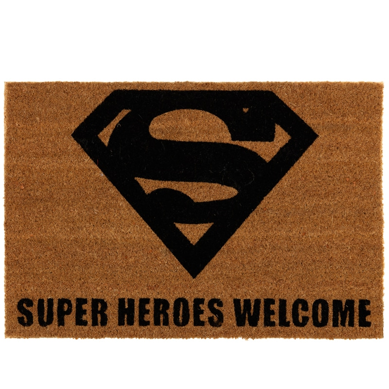 Superman Coir Doormat Home Homeware B Amp M