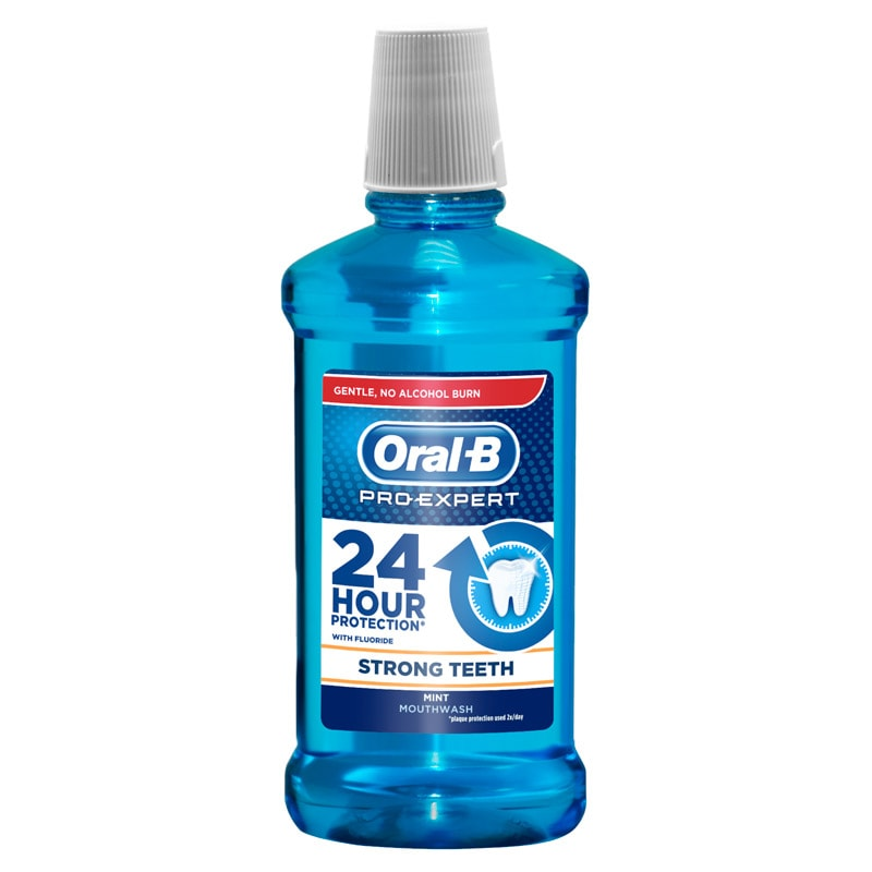 Oral B Pro Expert Strong Teeth Mint Mouthwash Dental