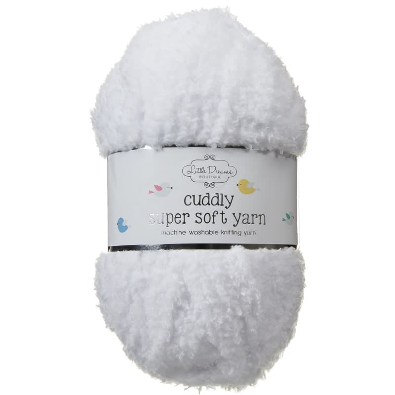 Cuddly Yarn - White