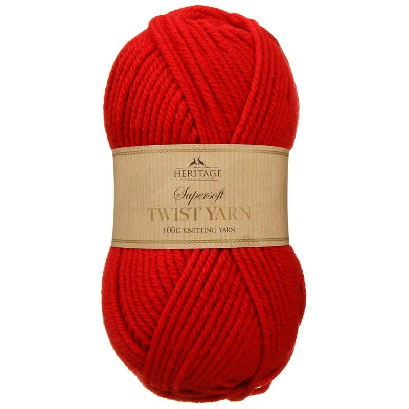 Knitting Accessories Uk : Supersoft twist yarn g red knitting accessories b m