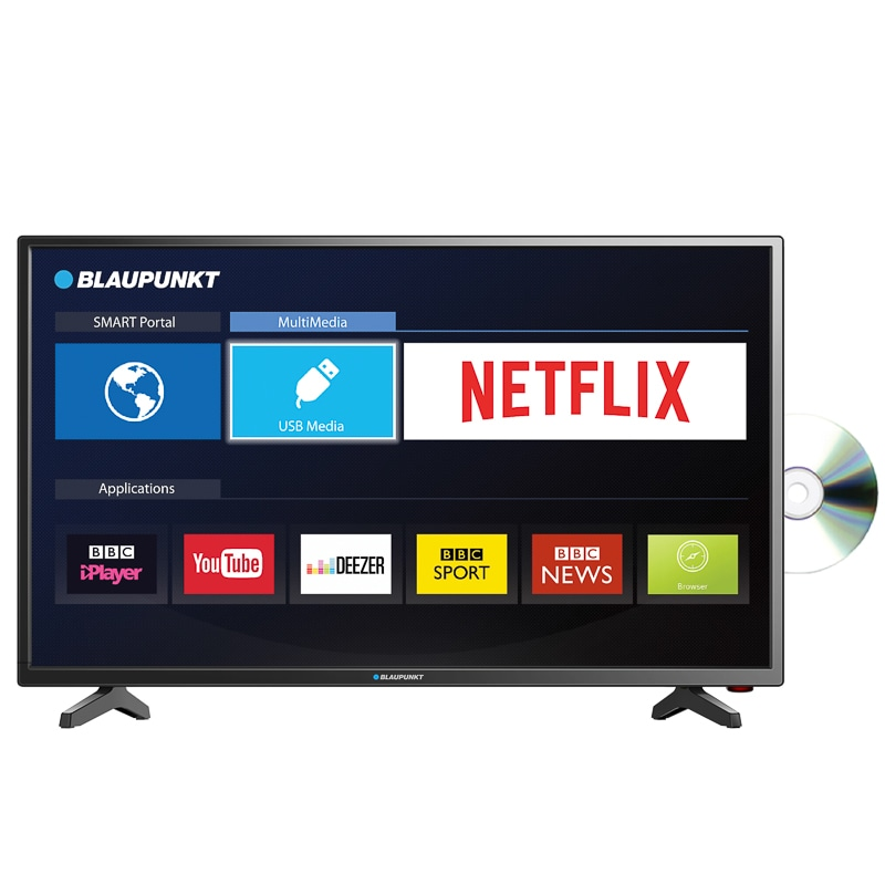 blaupunkt 32 full hd led smart tv televisions b m. Black Bedroom Furniture Sets. Home Design Ideas