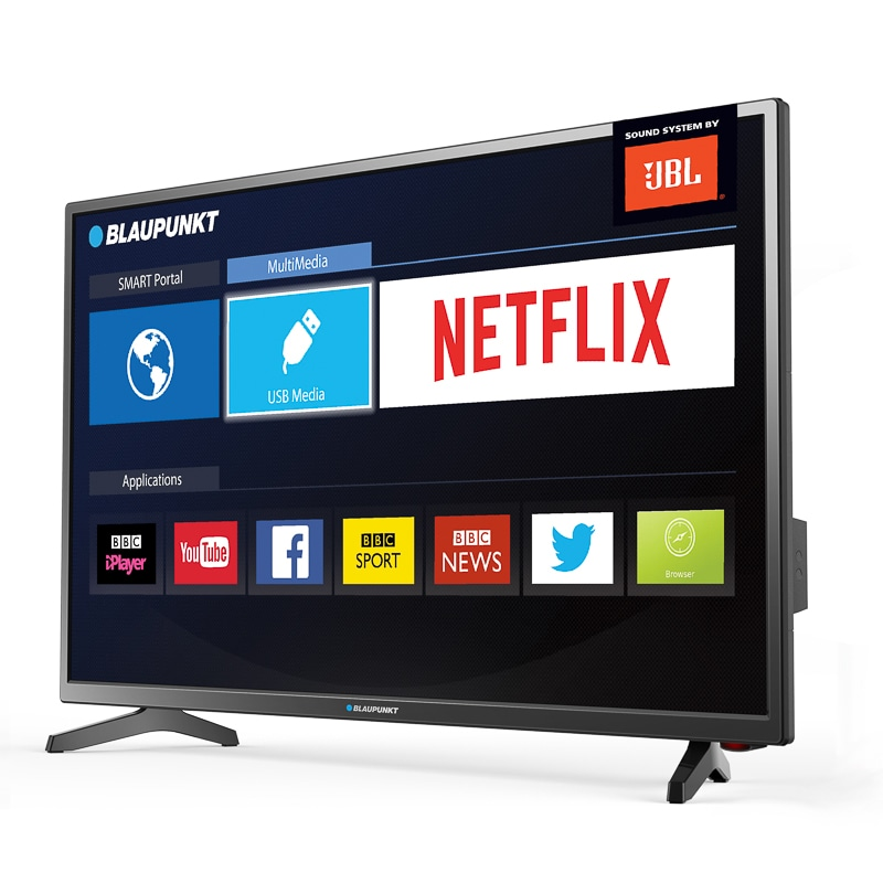blaupunkt 49 full hd led smart tv televisions b m. Black Bedroom Furniture Sets. Home Design Ideas