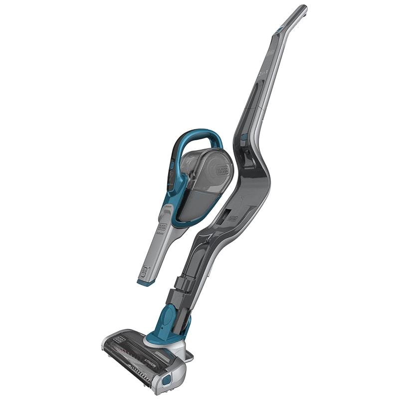 Black Amp Decker 2 In 1 Cordless Vacuum Cleaner Floorcare