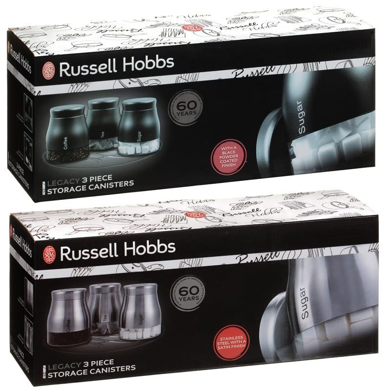 c3aafcc1b65 Russell Hobbs Legacy Tea - Coffee - Sugar Set 3pc