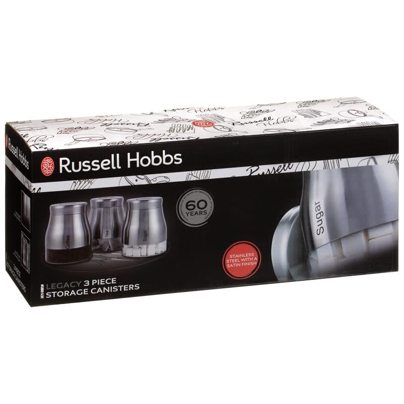 Russell Hobbs Legacy Tea Coffee Sugar Set 3pc