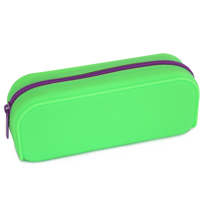 B Amp M Silicone Pencil Case Assorted 324998 B Amp M