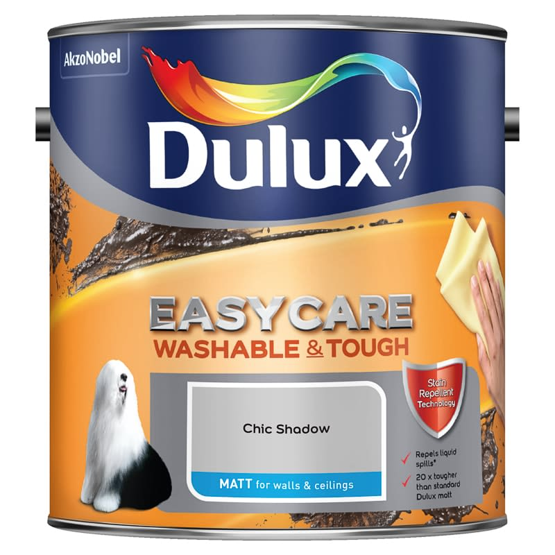 Dulux Easycare Matt Paint - Chic Shadow 2.5L