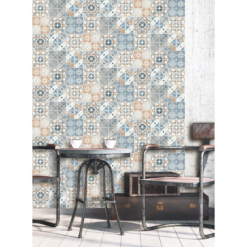 Debona Valencia Wallpaper Blue Decorating B M Stores