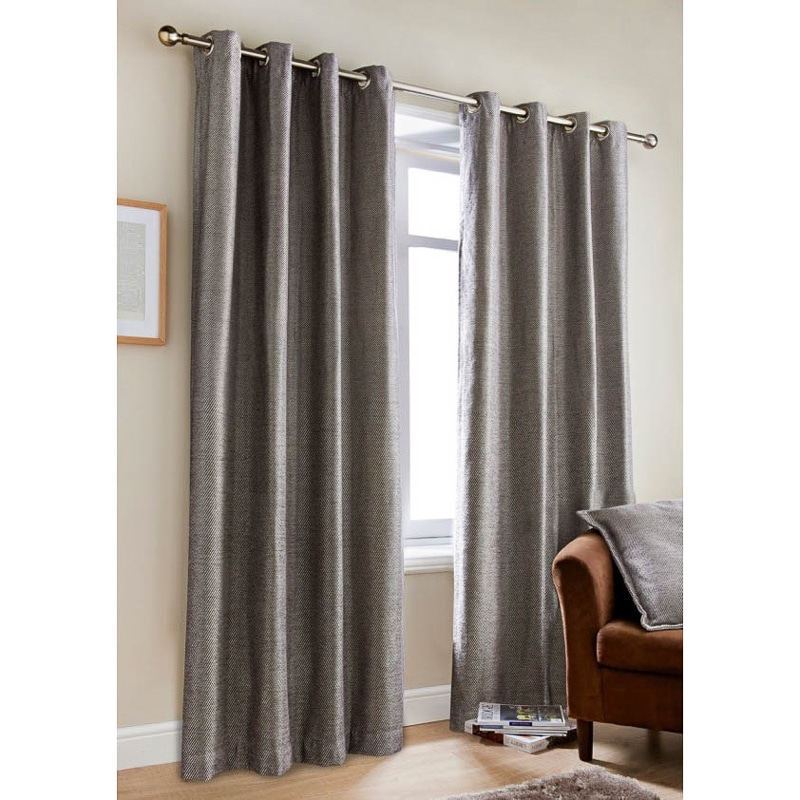 Oakley Oxford Chenille Curtains - 66 X 72""