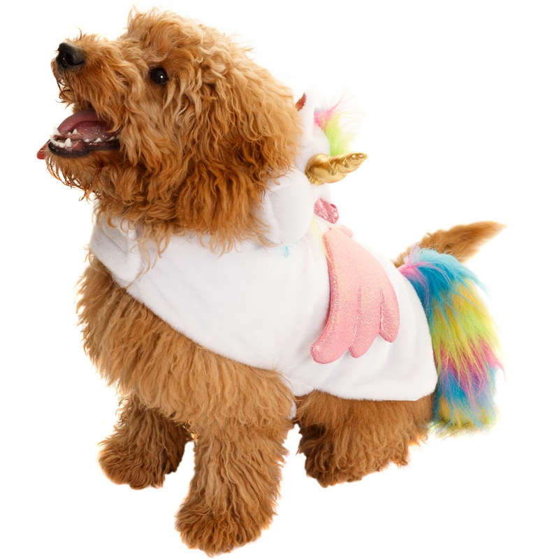 Dogs Novelty Fancy Dress Costume Unicorn Pets B Amp M