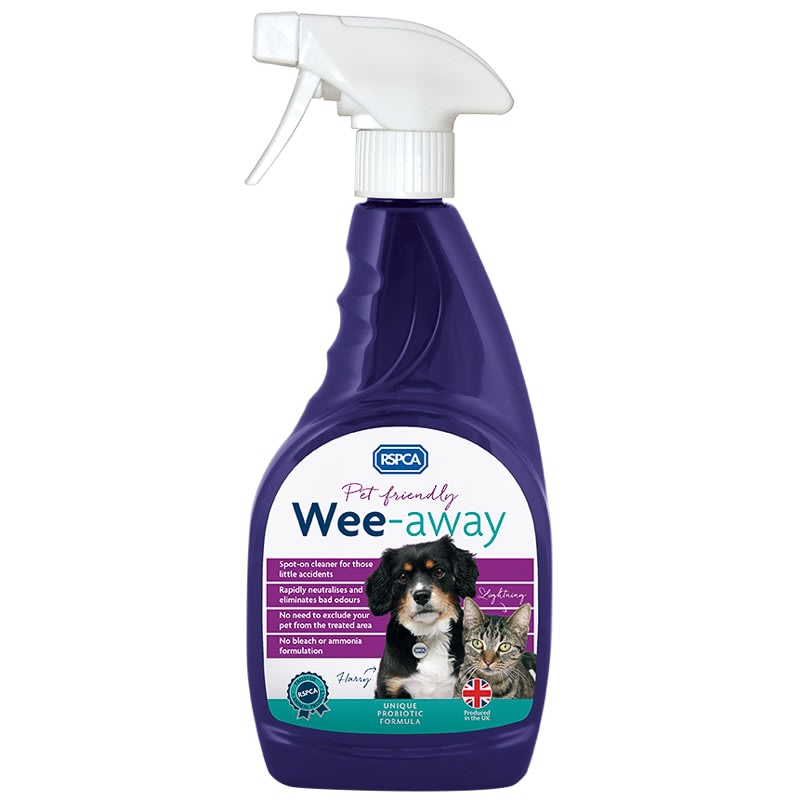 RSPCA Wee-Away Stain & Odour Remover 500ml