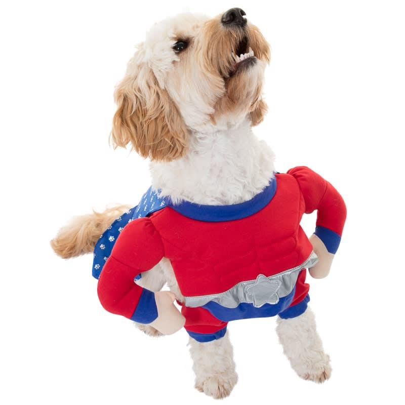 Dogs Superhero Costume Super Dog Dog Fancy Dress