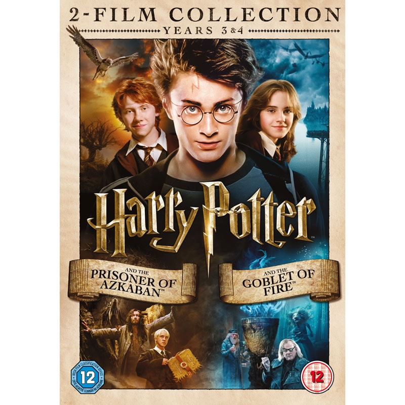 Harry Potter Film Collection Years 3 Amp 4 Dvd Dvds B Amp M
