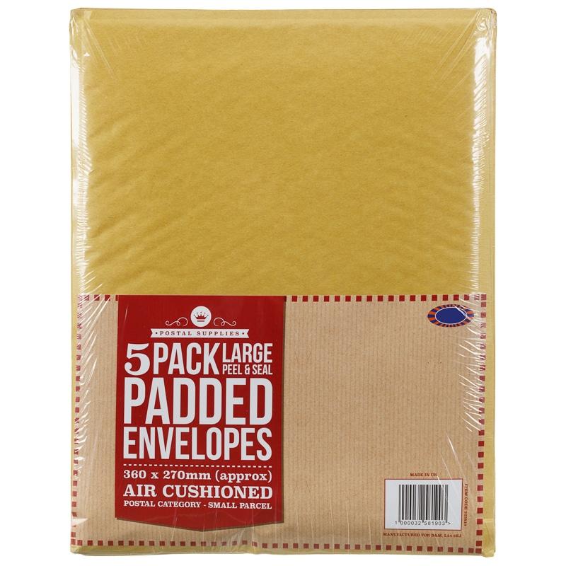 Large Padded Envelope 5 Pack Postage Amp Mailing B Amp M