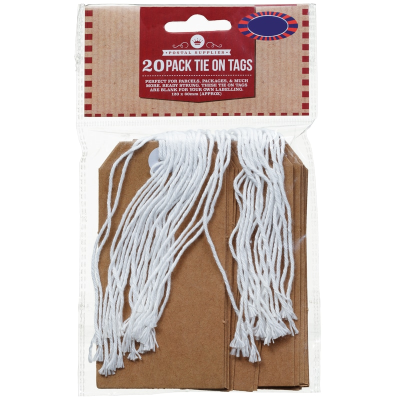 Tie on Tags 20pk