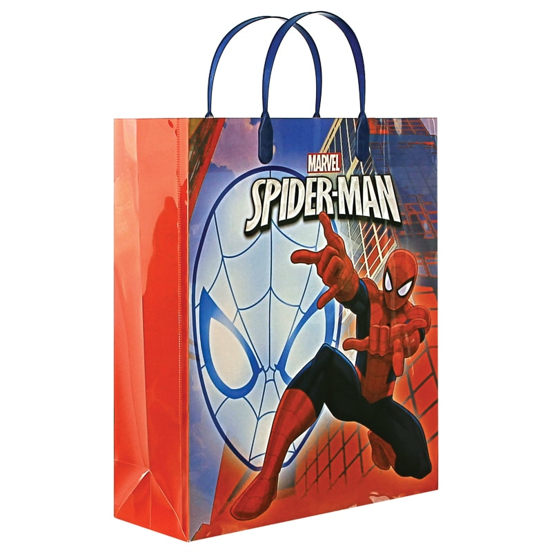 Spider Man Pp Gift Bag Gift Wrapping Amp Bags B Amp M