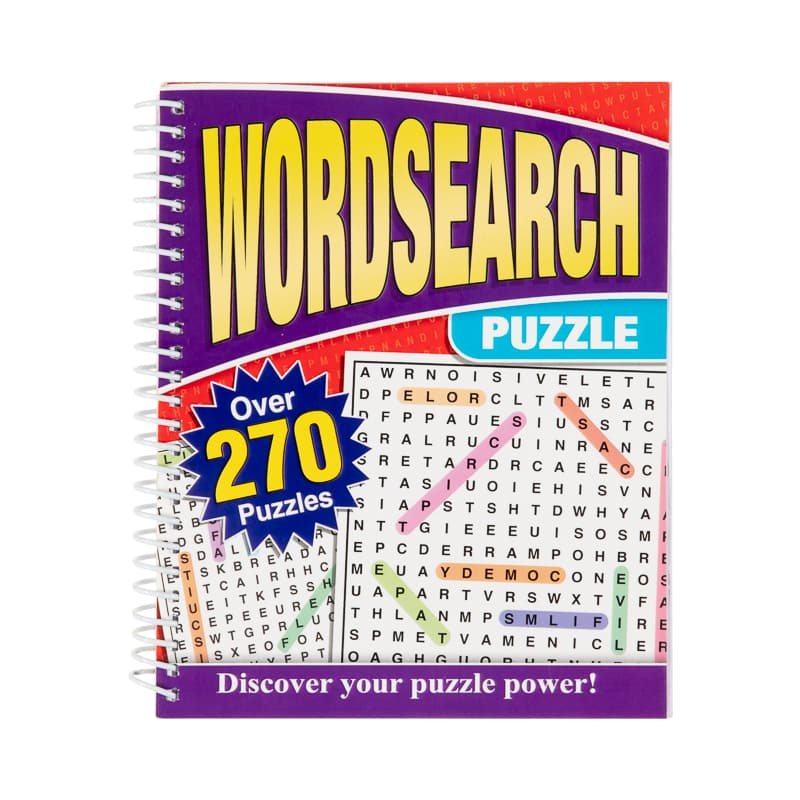 picture regarding Large Printable Word Search known as Weighty Print Puzzle E book - Term Glimpse