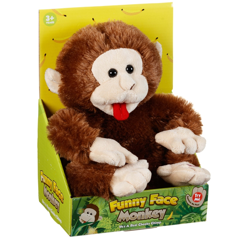 Funny Face Monkey Animal Amp Play Sets B Amp M