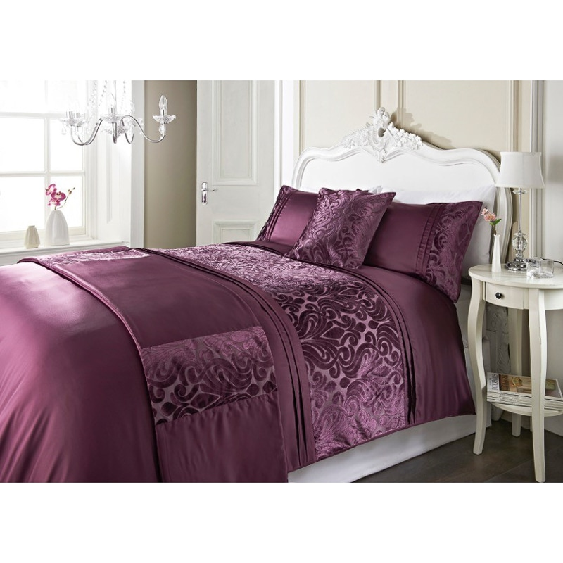 dallas damask velvet bed in a bag - king size