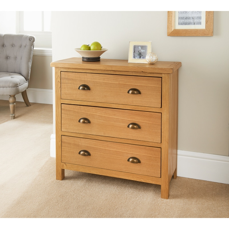 Wiltshire 3 drawer chest bedroom furniture b m stores for B m bedroom furniture