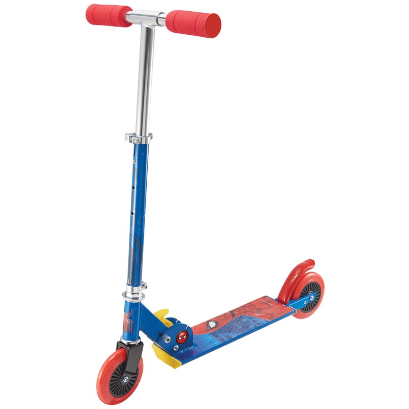Spider Man Inline Scooter Marvel Kids Scooters B Amp M