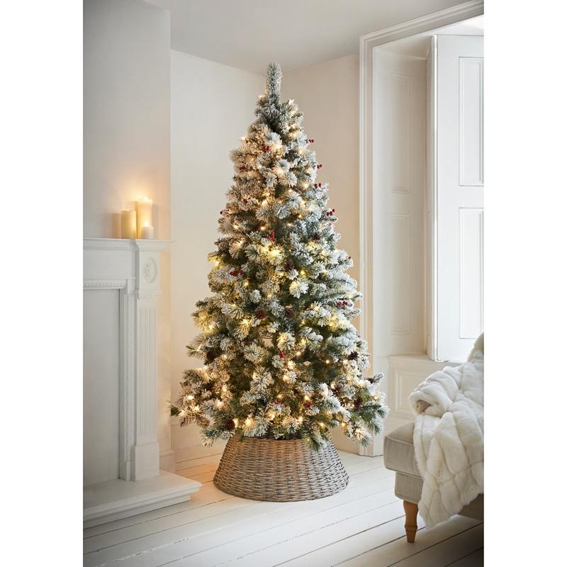 Why Christmas Trees: Copenhagen Pre-Lit Christmas Tree 7ft
