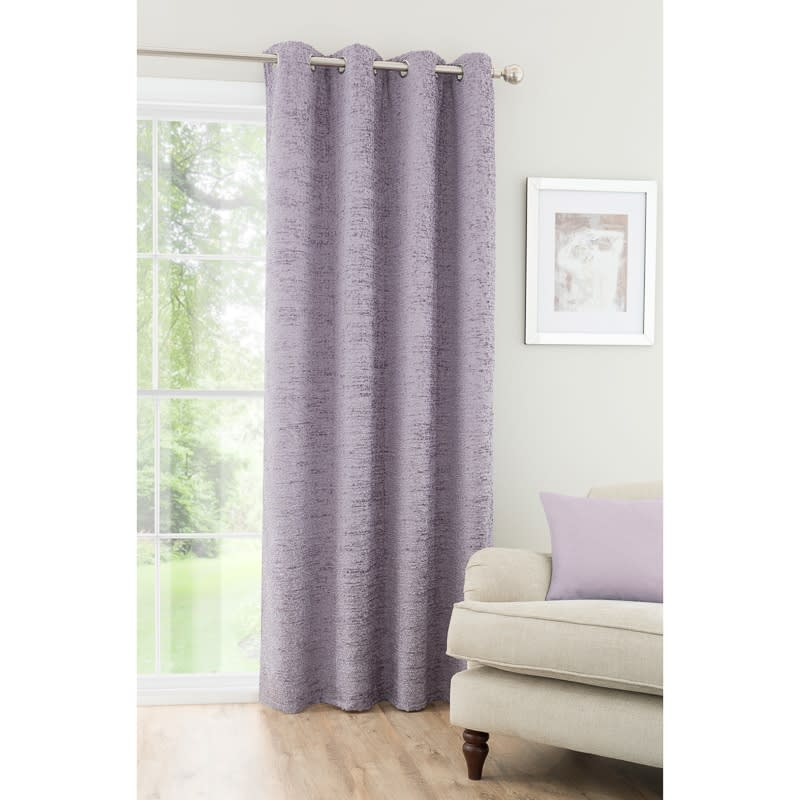 Textured Chenille Unlined Curtain Panel 54 X 86 Quot Home B Amp M