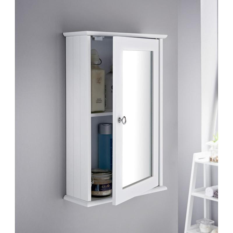 B M Maine Bathroom Single Door Cabinet 355083 B M