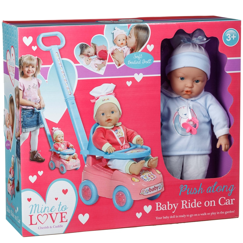Push Along Baby Car Dolls Amp Accessories B Amp M