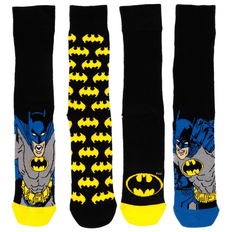 Mens Batman Socks 4pk Mens Clothing B Amp M