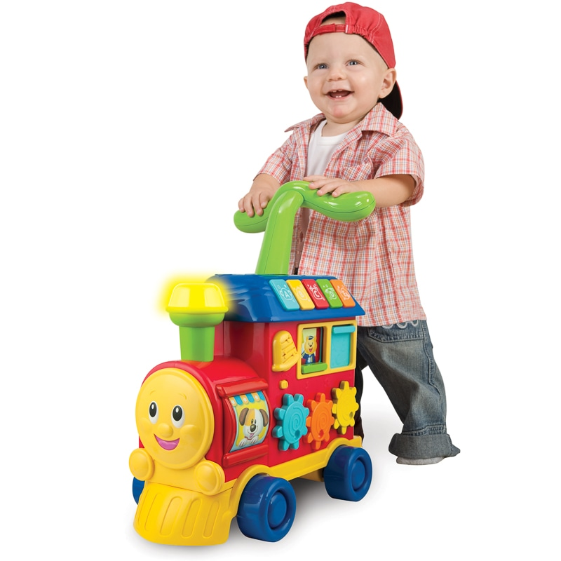 Walker Ride On Learning Train Baby Amp Toddler Toys B Amp M