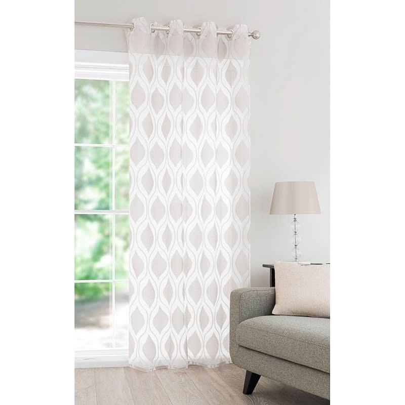 luxury belgravia curtain voile 55 x 87 voiles home b m. Black Bedroom Furniture Sets. Home Design Ideas