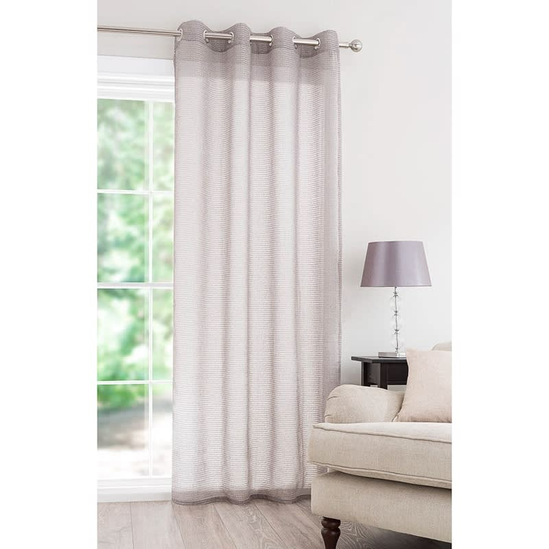 luxury shredded curtain voile 55 x 87 voiles home b m. Black Bedroom Furniture Sets. Home Design Ideas