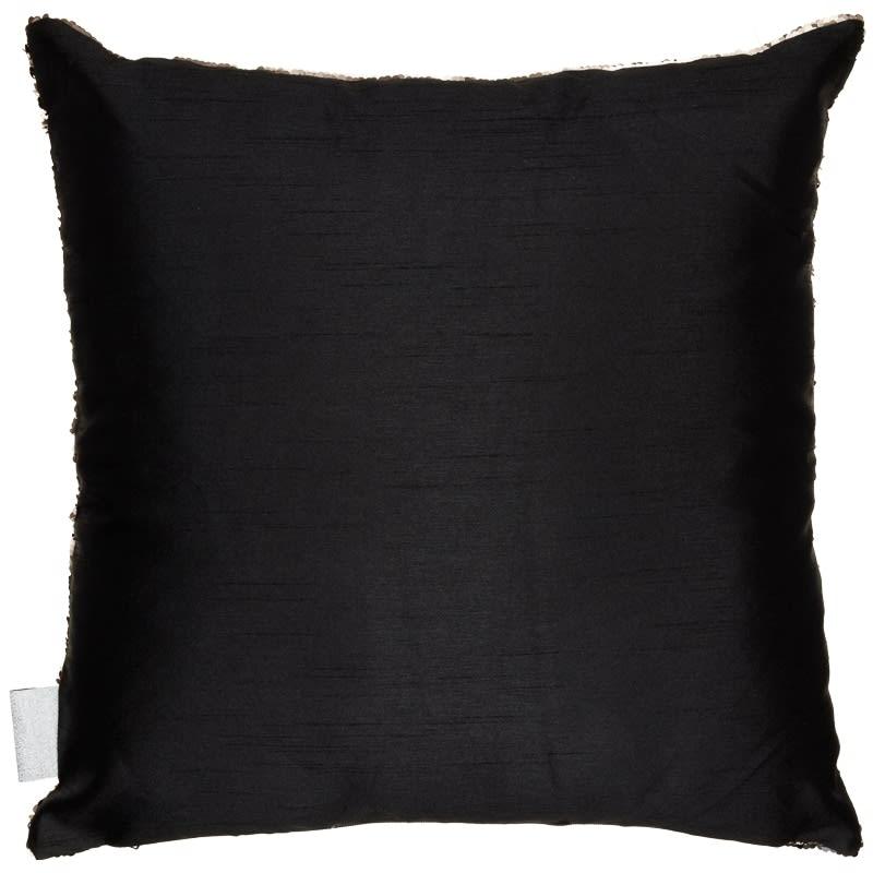 Reversible Sequin Cushion Gold Amp Black Cushions B Amp M