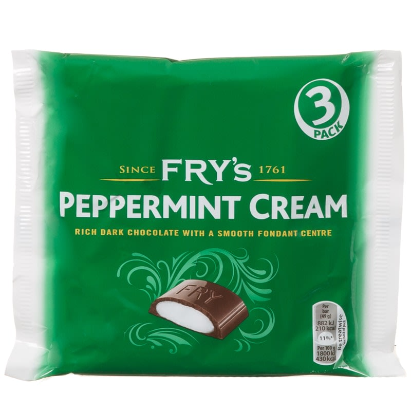 Fry's Peppermint Cream 3pk