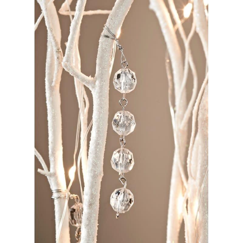 glitter branch led lights 1 2m home lighting b m