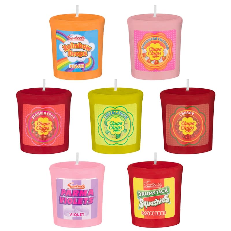 Swizzels Candle - Chupa Chups Strawberry