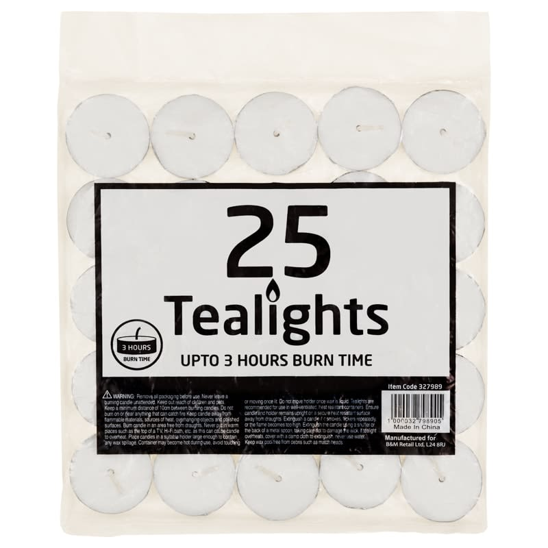 Tea Lights 25pk