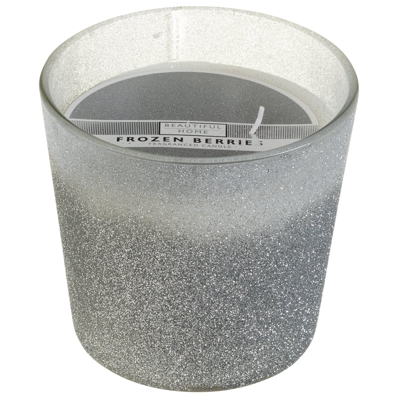 Glitter Candle Frozen Berries Gifts For Home B Amp M