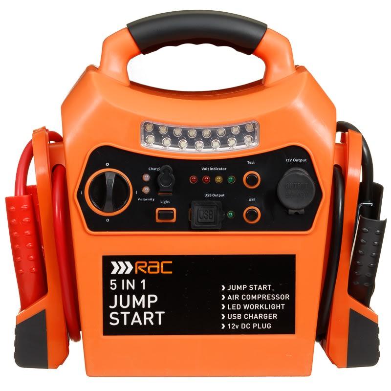 Rac 5 In 1 Jump Start Car Care B Amp M