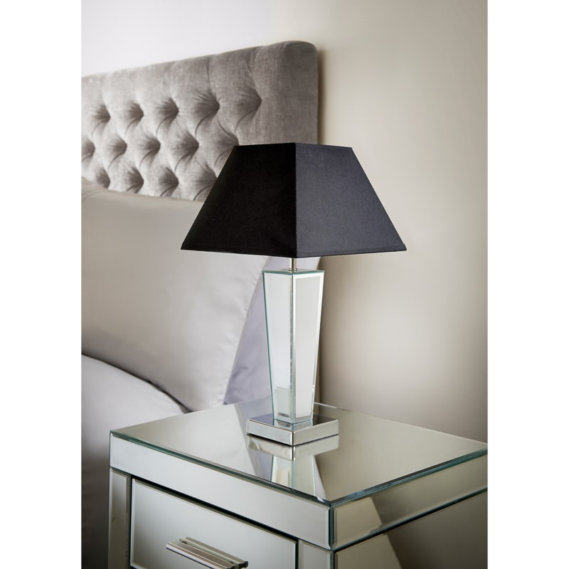 Gatsby Mirror Table Lamp - Black